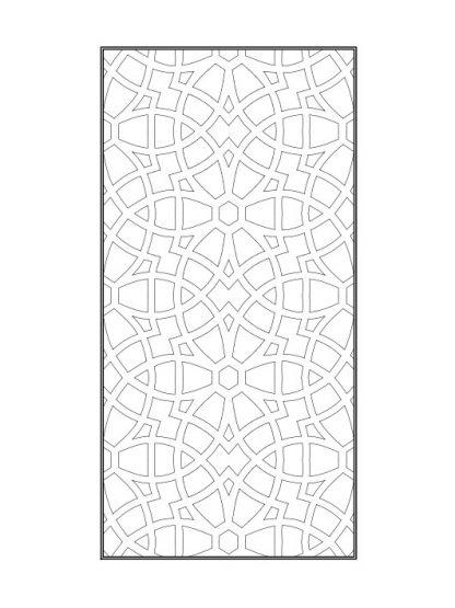 Mẫu vách cnc Kingin (K0004)