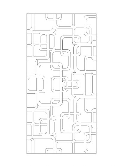 Mẫu vách cnc Kingin (K0006)