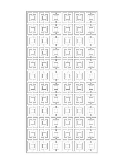 Mẫu vách cnc Kingin (K0008)